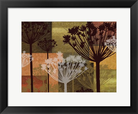 Framed Summer Breeze II Spice 2E Print