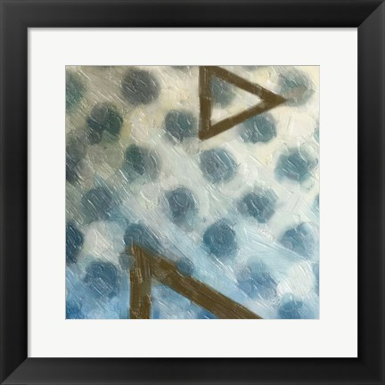 Framed Abstract Triad I Print