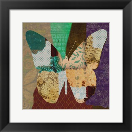 Framed Rise Above Butterfly Print