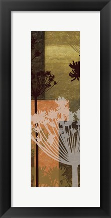 Framed Summer Breeze II Spice 2B Print