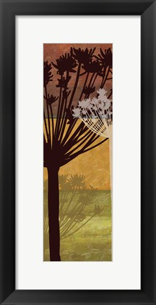 Framed Summer Breeze II Spice 2D Print