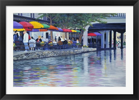 Framed Riverwalk Print