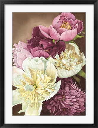 Framed Peony Passion Print