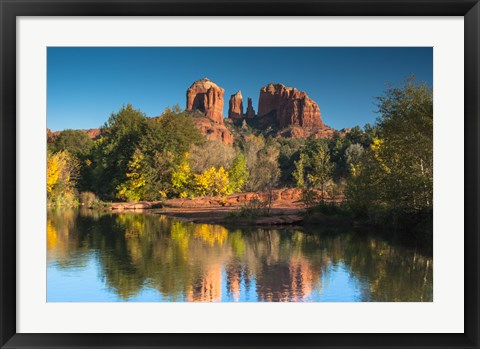 Framed Red Rock Crossing Print