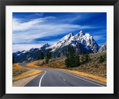 Framed Grand Teton National Park, Wyoming Print