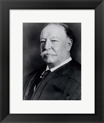Framed William Howard Taft, 27th President of the United States Print