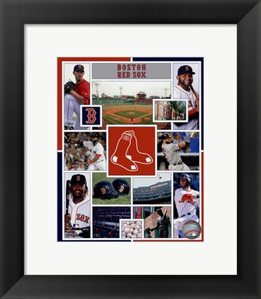 Framed Boston Red Sox 2015 Team Composite Print