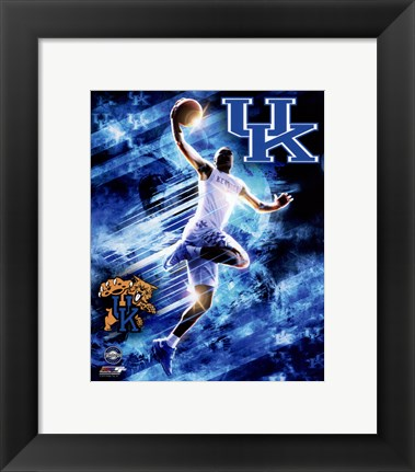 Framed University of Kentucky Wildcats Player Composite Print