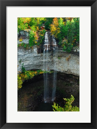 Framed Fall Creek Falls Print