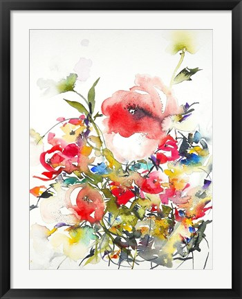 Framed Summer Garden One Print