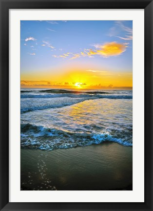 Framed Twin Waters Down Print