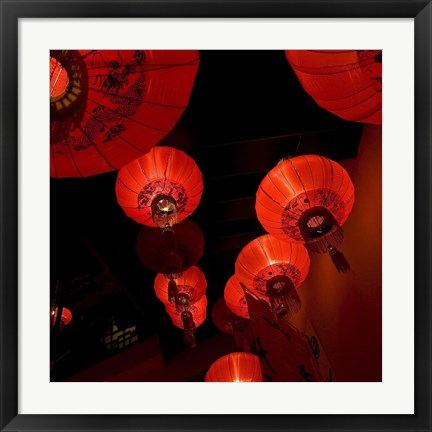 Framed Orient Lamps Print
