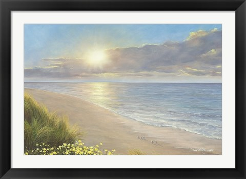 Framed Beach Serenity Print