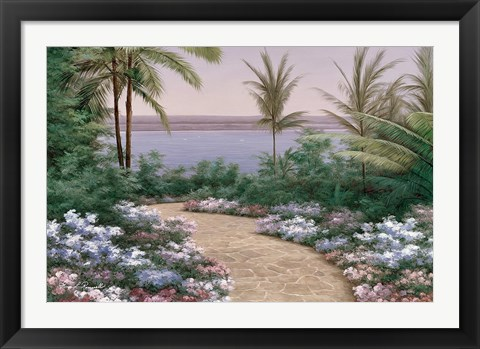Framed Floral Breeze Print