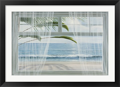 Framed View of the Tropics Print