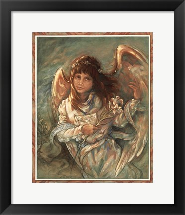 Framed Dream Angel Print