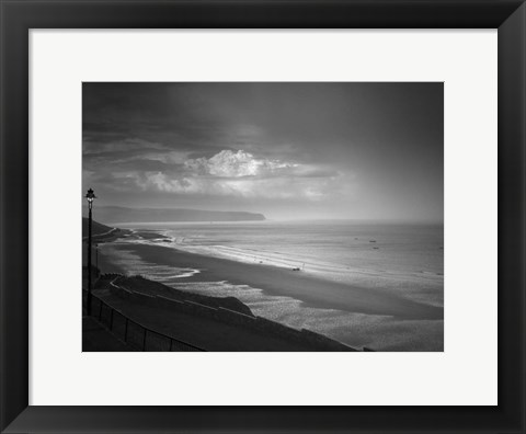 Framed Sea Storm I Print