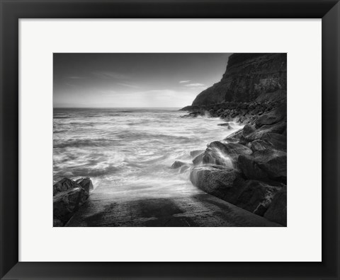 Framed Sea Storm II Print