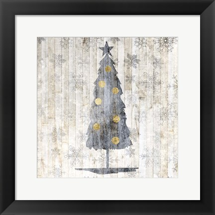 Framed Sophisticated Christmas II Print