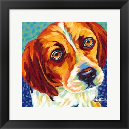 Framed Dogs in Color II Print