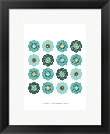 Framed Charms III Print