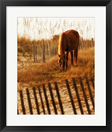 Framed Solitary Light Print