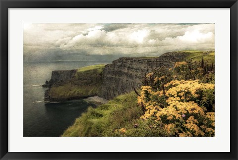 Framed Ireland in Color I Print