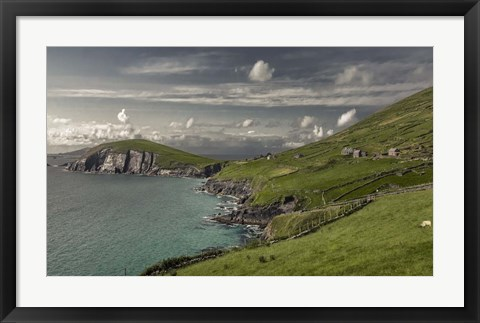 Framed Ireland in Color III Print