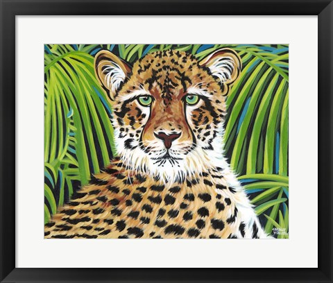 Framed Wild Beauties II Print
