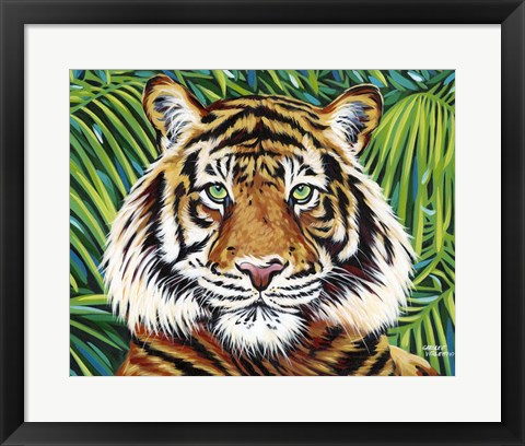 Framed Wild Beauties III Print