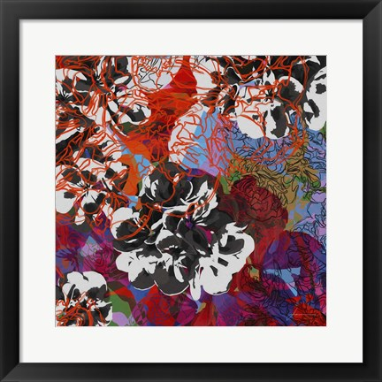 Framed Trace Elements III Print
