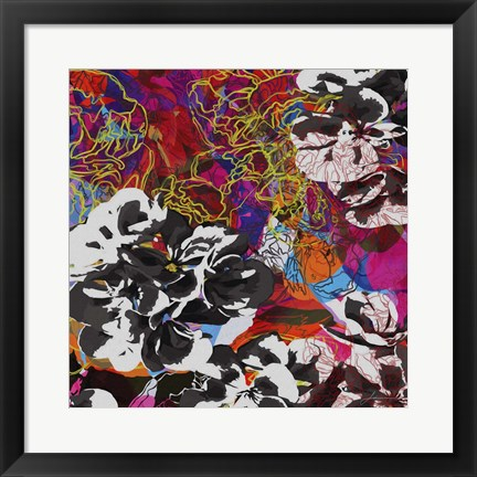 Framed Trace Elements IV Print