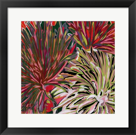 Framed Spring Mix I Print