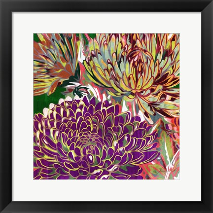 Framed Spring Mix III Print