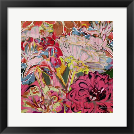 Framed Spring Mix IV Print