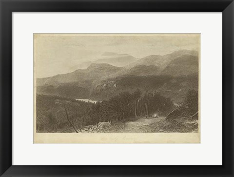 Framed Smoky Mountains Print