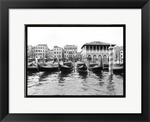 Framed Glimpses, Grand Canal, Venice II Print