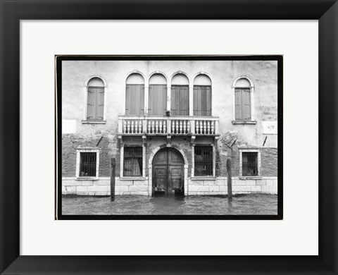 Framed Hidden Passages, Venice IV Print