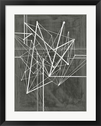 Framed Vertices I Print