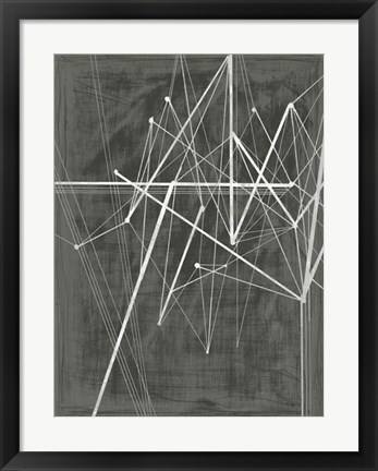 Framed Vertices II Print