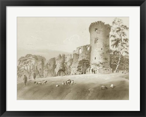 Framed Bothwell Castle Print