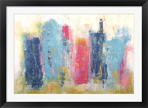 Framed City Dreams Print