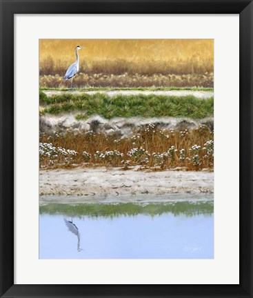 Framed Blackwater Tapestry I Print