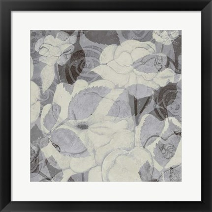 Framed Grey Garden II Print