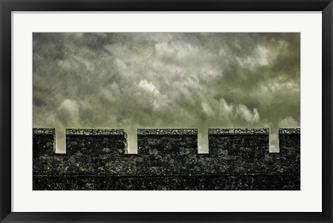 Framed Irish Castle Views I Print