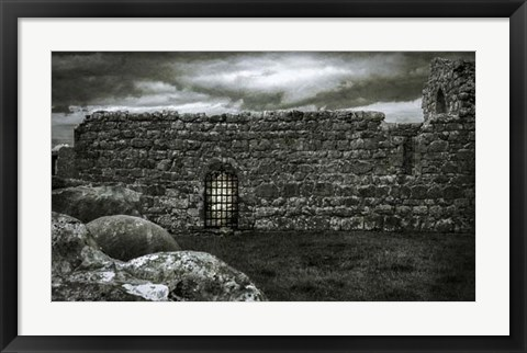 Framed Irish Castle Views V Print