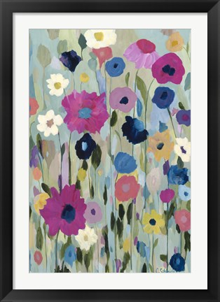 Framed Wild Flowers Print