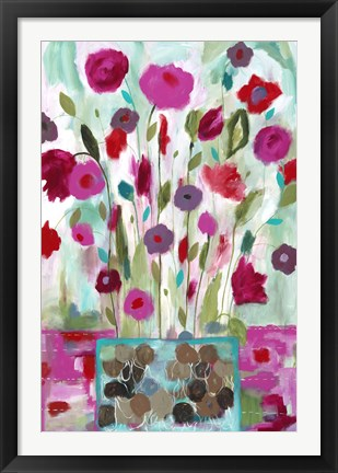 Framed Winter Blooms Print