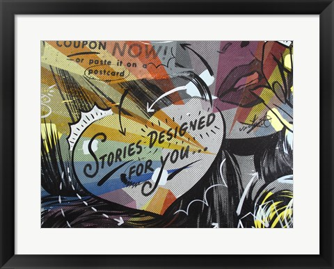 Framed Coupon Stories Print