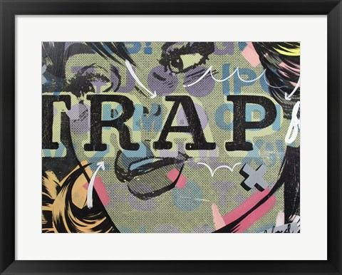Framed Trap Print
